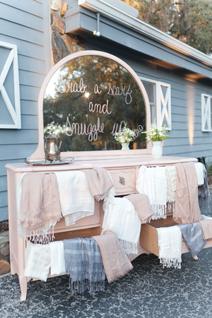 weddings by 2PlusHue, The Lange Farm, Rustic wedding design, antique pink dresser