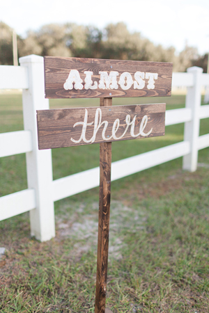 weddings by 2PlusHue, custom wood wedding sign, rustic, Orlando, The Lange Farm