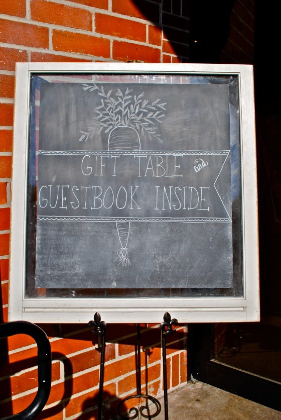 rustic wedding, farmers market, chalkboard