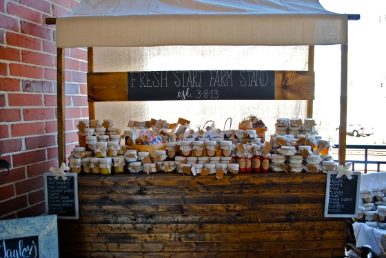 farm stand, rustic wedding, farmers market